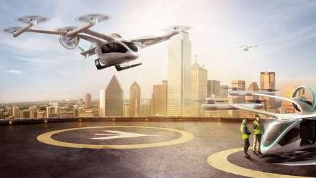 Após quatro anos na Embraer, carro voador da brasileira continuará sendo desenvolvido pela startup Eve.