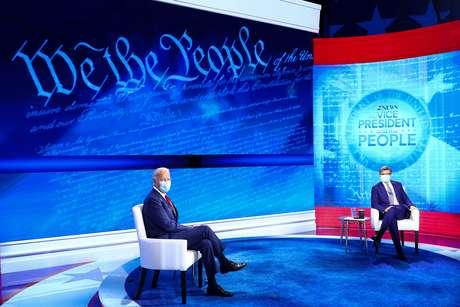 Candidato democrata à Presidência dos EUA, Joe Biden, durante fórum realizado pela ABC 15/10/2020 REUTERS/Tom Brenner
