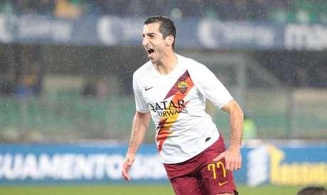 Mkhitaryan defende a Roma desde 2019
