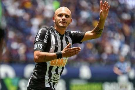 Fábio Santos está perto de acertar seu retorno ao Corinthians nos próximos dias (Foto: Bruno Cantini/Atlético-MG)
