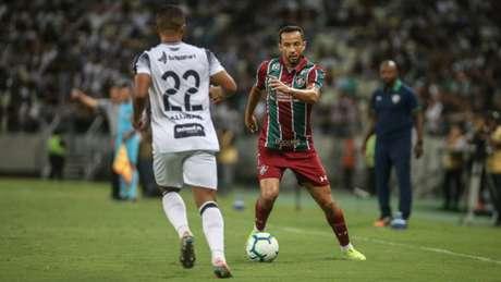 Fluminense e Ceará em duelo pelo Brasileirão de 2019 (Foto: Lucas Merçon/Fluminense FC)