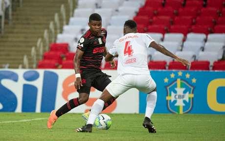 Lincoln foi o autor do gol do Flamengo no empate com o Red Bull Bragantino (Foto: Alexandre Vidal/Flamengo)