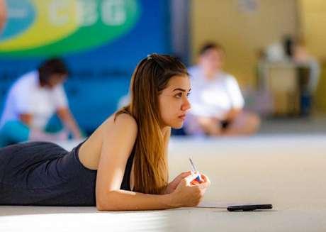 Ana Paula Scheffer representou a Seleção Brasileira de ginástica rítmica e era treinadora (Foto: Emanuel Rocha)