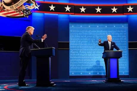 Ao invés de debate, Trump e Biden responderam questionamentos de eleitores em emissoras diferentes