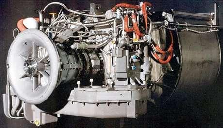 Motor Honeywell AGT1500 usado no tanque Abrams.