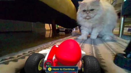 Mario Kart Live apresenta pequenos problemas com gatos (Imagem: Unranked Podcast/Reprodução)