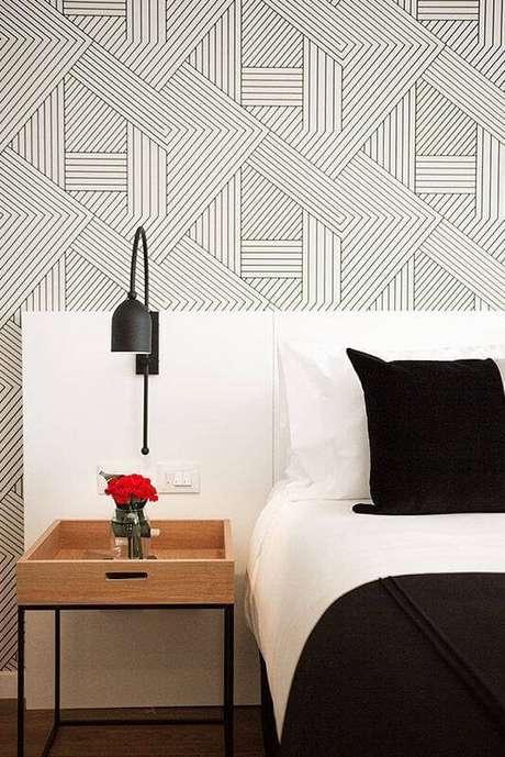 8. Escolha um modelo de luminária de cabeceira que se harmonize à sua decoração – Foto: Home Fashion Trend