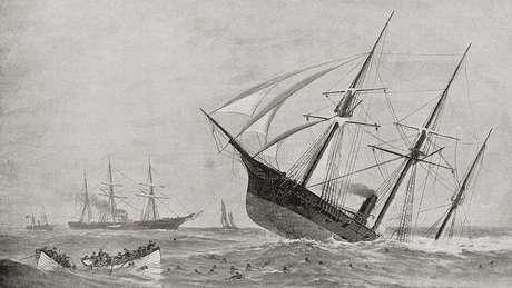 Nos naufrágios, não se perdiam apenas vidas e ouro