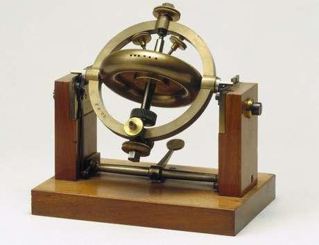 Parte do giroscópio de Foucault