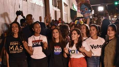 O voto latino ganha mais peso a cada eleição