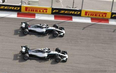 O GP da Rússia foi marcado por uma ordem de equipe da Mercedes