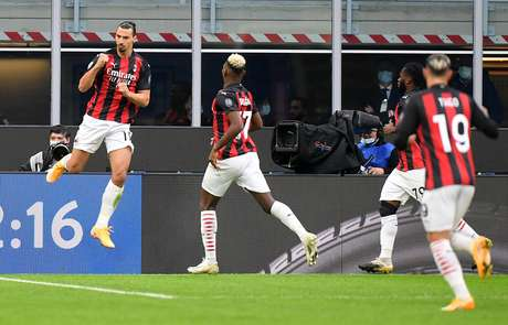 Ibrahimovic foi o grande nome da vitória do Milan