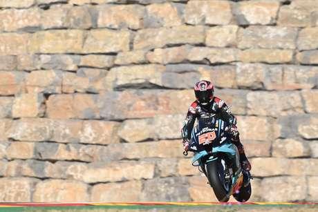 Fabio Quartararo larga da pole pela quarta vez