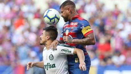 Fortaleza e Palmeiras se enfrentam no Ceará (Foto: Divulgação Palmeiras)