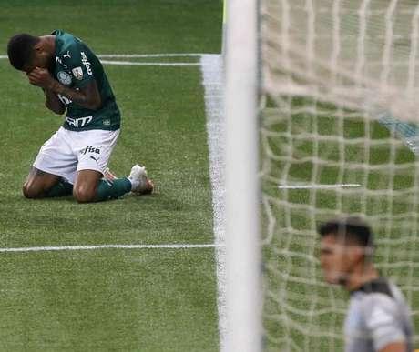 Wesley foi o melhor em campo na goleada contra o Bolívar (Foto: Cesar Greco/Agência Palmeiras)