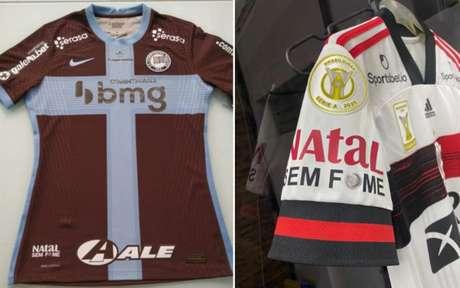 Camisas das duas equipes trarão ação da ONG Ação da Cidadania (Foto:Divulgação)