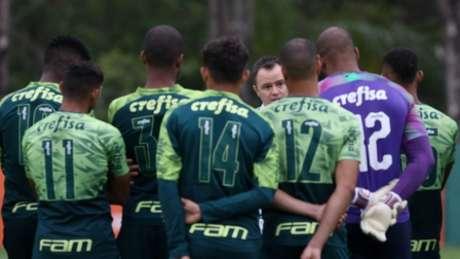 Andrey Lopes está invicto como técnico interino do Palmeiras (Foto: Cesar Greco/Palmeiras)