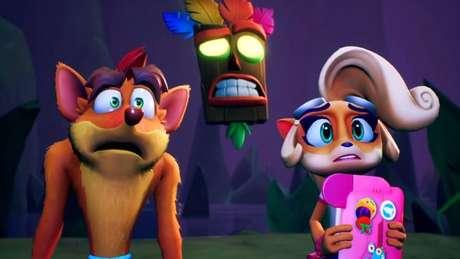Crash, Coco e Aku-Aku (Imagem: Reprodução/Activision)