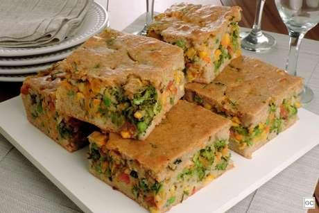 Guia da Cozinha - Torta integral de legumes