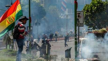 A Bolivia teve muitos protestos populares no último ano