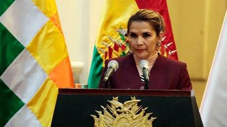 Jeanine Áñez assumiu a Presidência em novembro