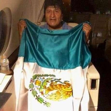 Morales foi da Bolívia para o México após renunciar