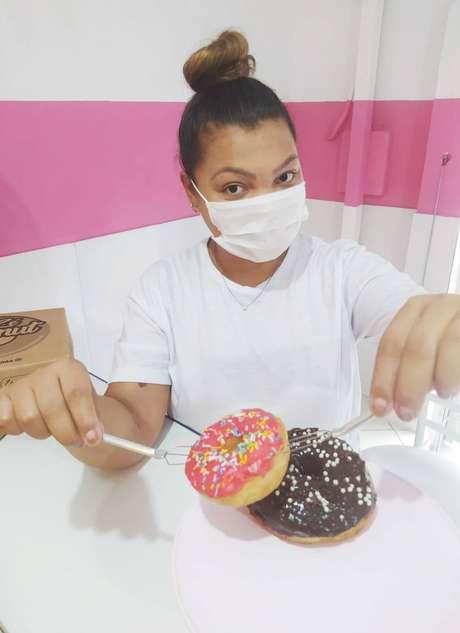 Barbara Camilo abriu em junho o Zé Donut e já pretende ampliar o negócio