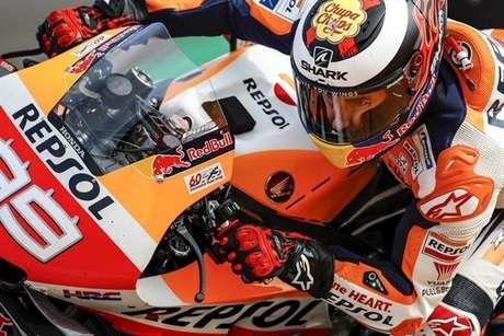 Jorge Lorenzo encerrou a carreira na MotoGP em baixa com a Honda