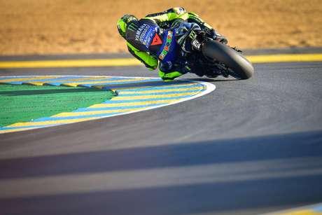 Valentino Rossi testou positivo para Covid-19