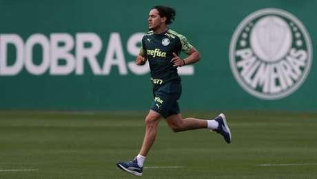 Gustavo Gómez volta ao Palmeiras contra o Fortaleza (Foto: Cesar Greco/Agência Palmeiras)