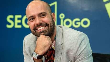 Lucas Gutierrez comando o 'Segue o Jogo' (Foto: Globo/Camilla Maia)