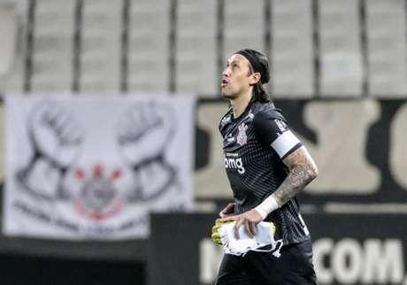 Cássio desabafou após goleada sofrida para o Flamengo (Foto: Rodrigo Coca/Ag. Corinthians)