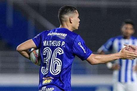 Matheus desfalcou o Cruzeiro em três partidas na Série B-(Gustavo Aleixo/Cruzeiro)