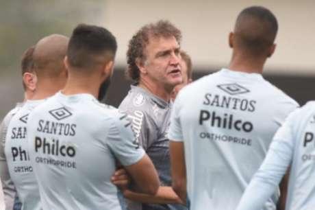 Técnico do Santos lamenta não poder preservar os atletas (Foto: Ivan Storti/Santos FC)