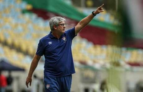 Odair quer aproveitar semana livre para recuperar jogadores - (Foto: LUCAS MERÇON / FLUMINENSE F.C.)
