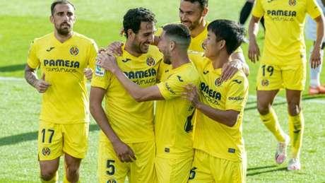 Capitão Dani Parejo marcou golaço para decretar vitória do Villarreal (Foto: Divulgação / Site oficial do Villarreal)