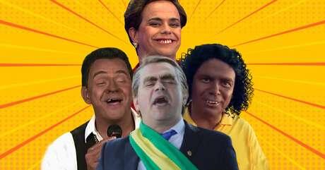 Antes de fazer 'blackface' do sambista Luiz Carlos, Carioca já havia se 'enegrecido' para viver o ex-jogador Ronaldinho Gaúcho; sua atuação como Bolsonaro é impagável e merece ser dissociada de militância política  ...
