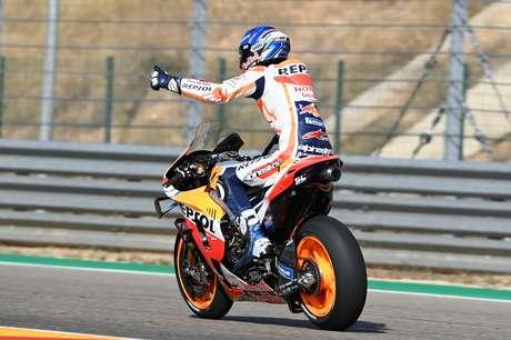 Álex Márquez conquistou o segundo pódio na MotoGP
