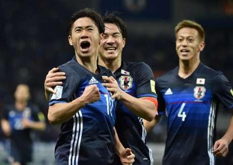 Ex-camisa 10 da seleção japonesa é novo sonho de consumo dos botafoguenses (JIJI PRESS / AFP)