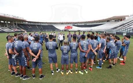 Trabalho de Sá Pinto com os jogadores do Vasco tem início, na prática, nesta segunda-feira (Rafael Ribeiro/Vasco)