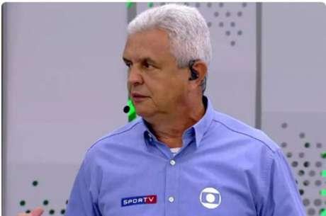 Márcio Rezende de Freitas foi comentarista de arbitragem durante 14 anos na TV Globo-(Reprodução/TV Globo)