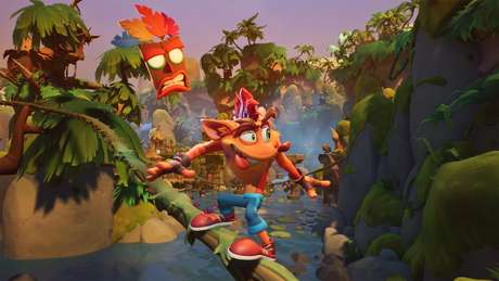 Crash Bandicoot 4: It's About Time foi lançado em 2 de outubro para PlayStation 4 e Xbox One