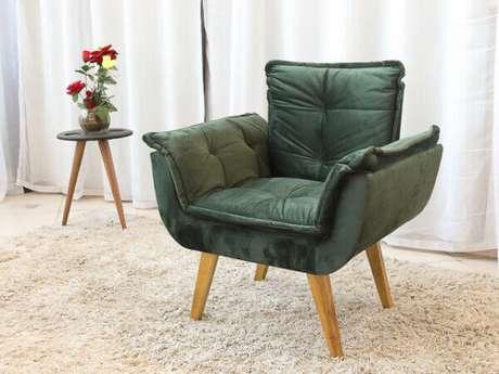 1. Poltrona opala verde super moderna – Via: Pinterest
