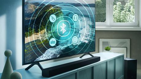 Smart TV Samsung com Bluetooth/Reprodução