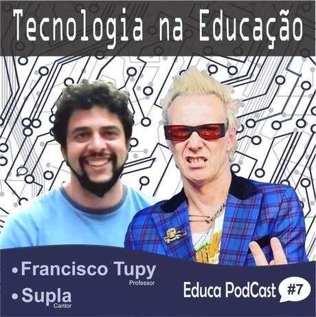 Francisco Tupy e Supla falam sobre música e games na educação