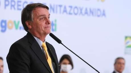 Presidente discursa em Brasília em defesa do uso do medicamento
