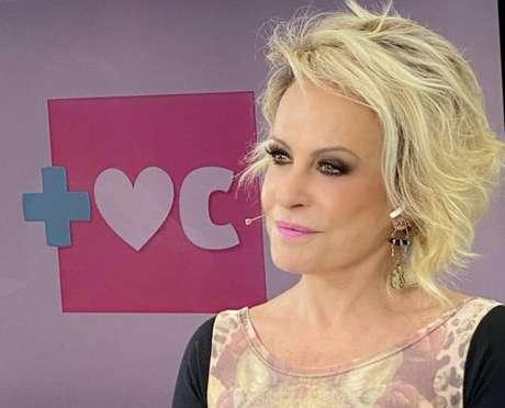 A apresentadora do 'Mais Você', Ana Maria Braga