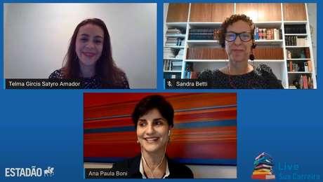 Primeira live do projeto Sua Carreiraabordou o tema 'O que as empresas querem dos futuros funcionários'
