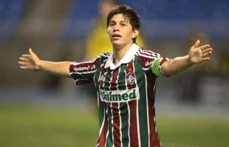Conca nos tempos de Fluminense (Divulgação)