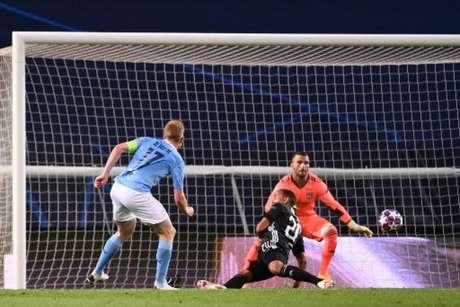 Manchester City foi eliminado para o Lyon na última temporada (Foto: FRANCK FIFE / POOL / AFP)